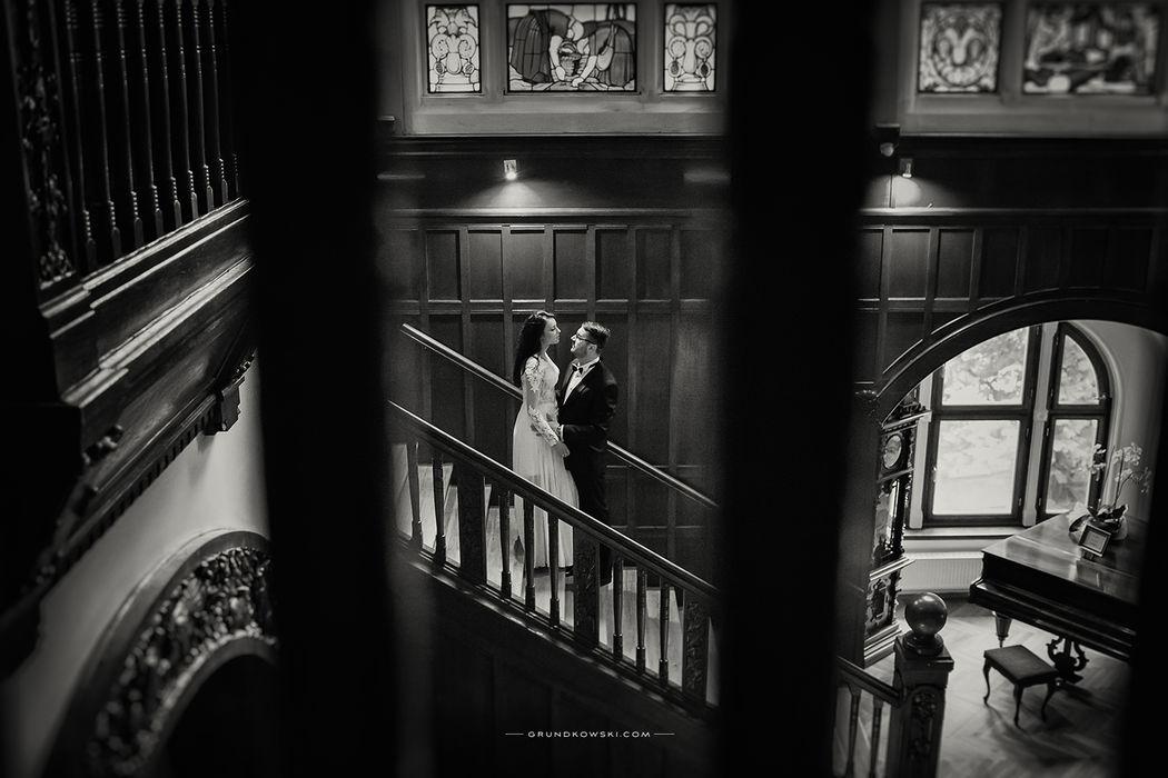 Portret ślubny w Hotel Bursztynowy Pałac