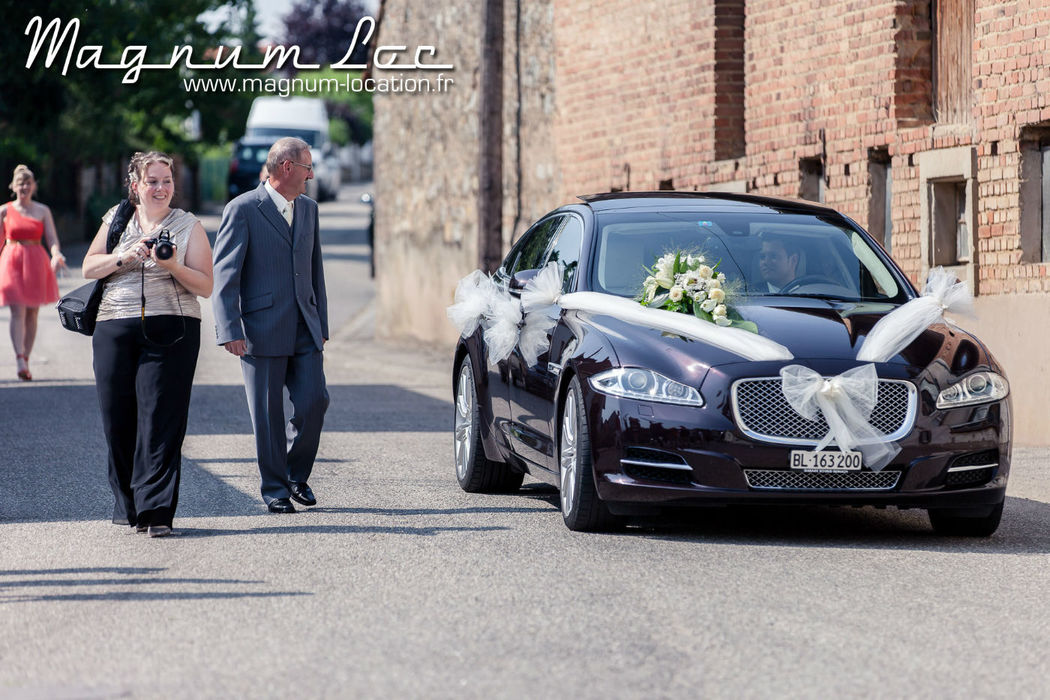 Magnum Loc : Prestation chauffeur en Jaguar XJL