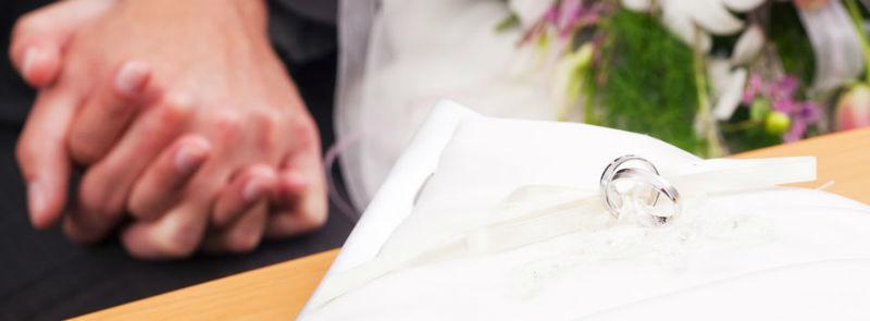 Beispiel: Trauringe für Ihre Hochzeit, Foto: Juwelier Reiher.