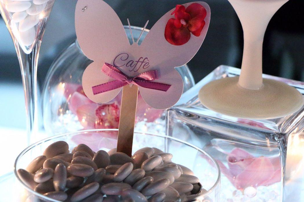 Allestimento confettata e candy bar