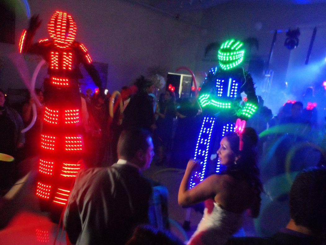 Show de Robots de Led