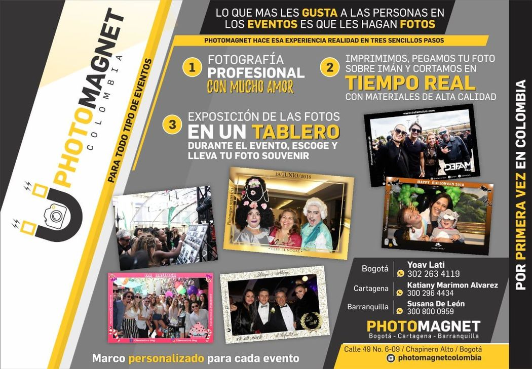 Photo Magnet Colombia - Recordatorios