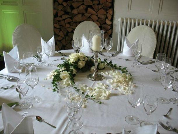Beispiel: Tischdekoration, Foto: Blatt+Form.