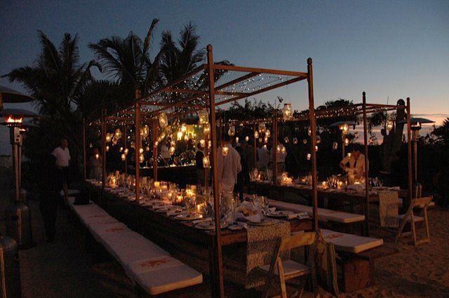 Catering profesional y renta de equipo exclusivo para bodas en Los Cabos - Foto Lazy Gourmet