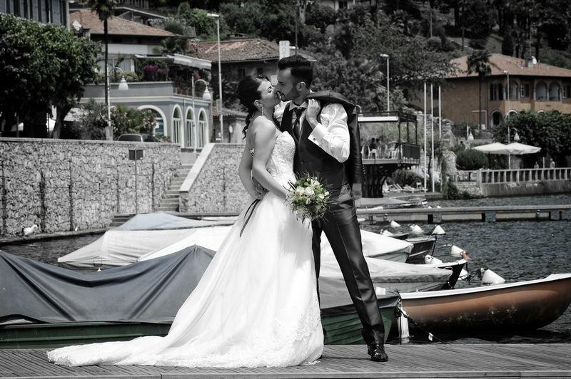 Just Married Lago di Mergozzo  - Mario Curti Photographer