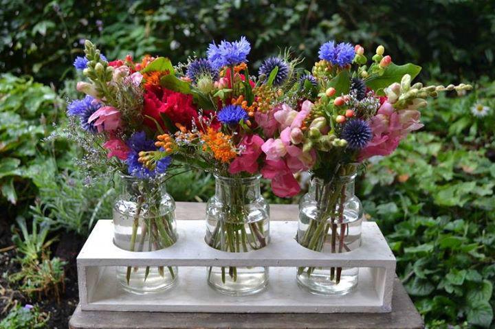 Besipiel: Blumenstrauss, Foto: Susanne Simon Blumen.
