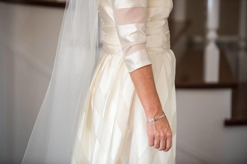Vestido novia Pilar Bande Atelier