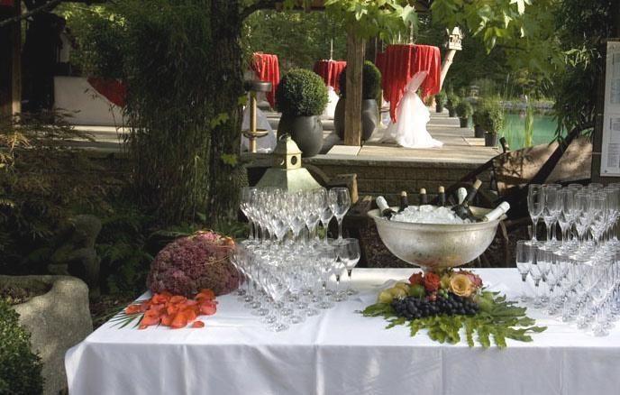 Beispiel: Buffet, Foto: Traumgarten Thalwil.