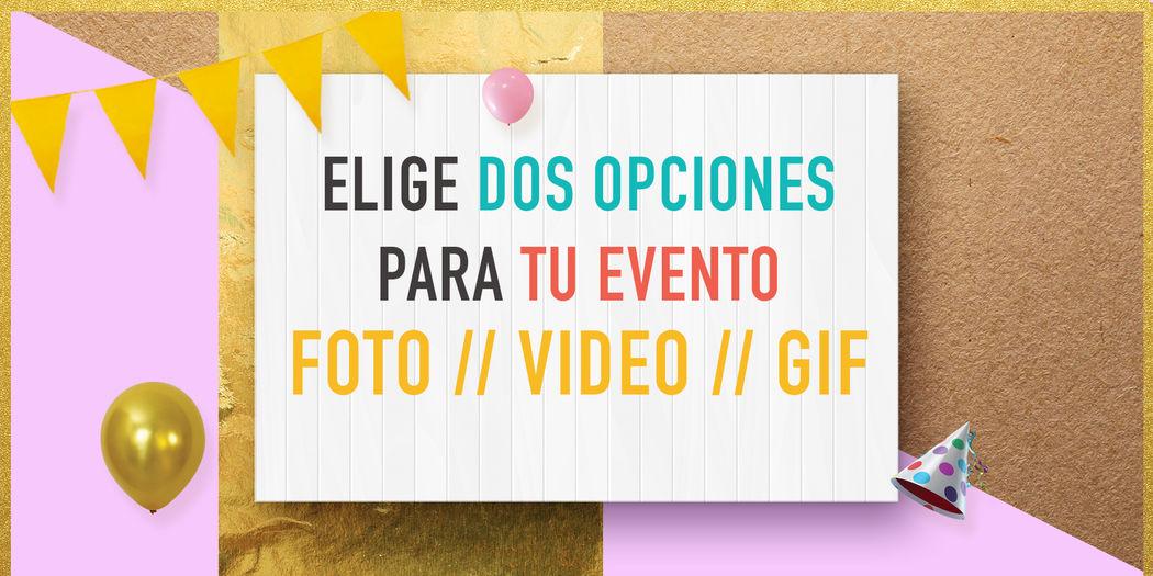 Puedes tener 2 opciones para tu evento!!