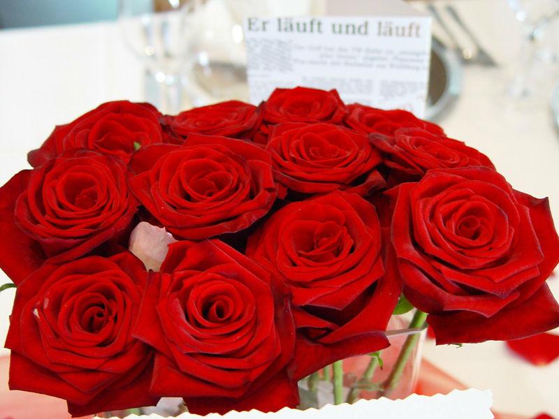 Beispiel: Blumendekoration, Foto: Zehntstadel.