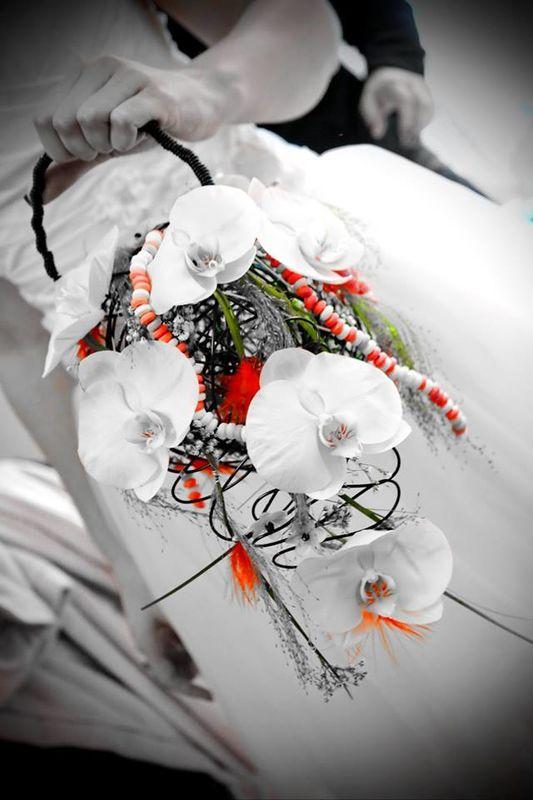 Bouquet de la mariée sur le thème bonbon