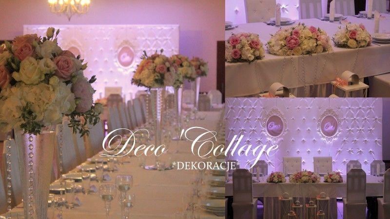 Deco'Collage dekoracje ślubne Szczecin