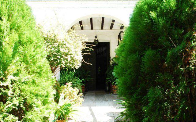 Jardín Interior. Entrada casa