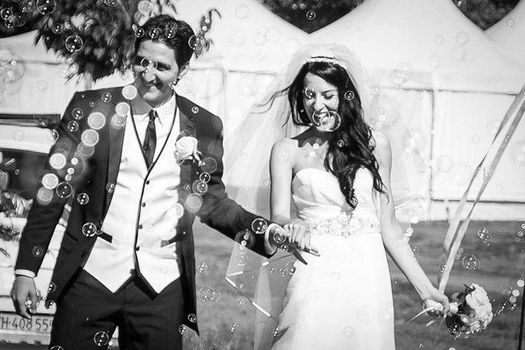 Glückliches Brautpaar, Foto: Best Moments.