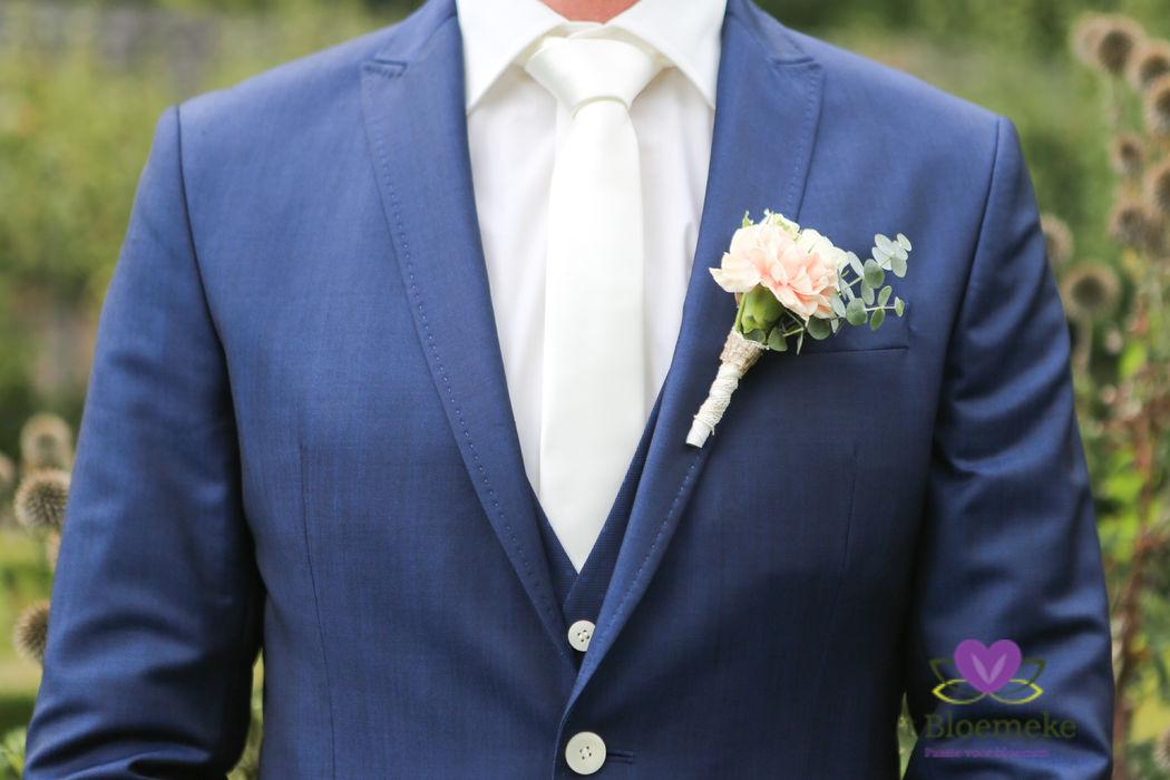 Vergeet de bruidegom niet!