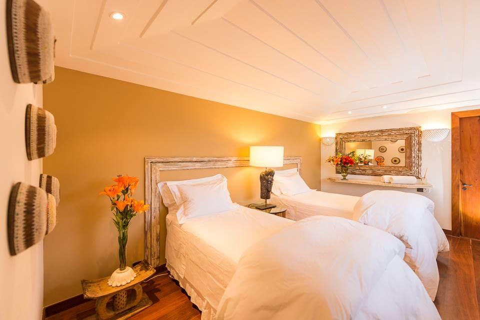 Suite Tiger com cama reversível para King size   !