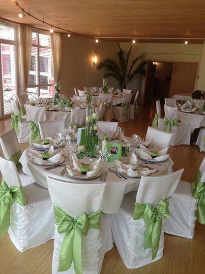 Beispiel: Hochzeitsbankett, Foto: Hotel Restaurant Talblick.