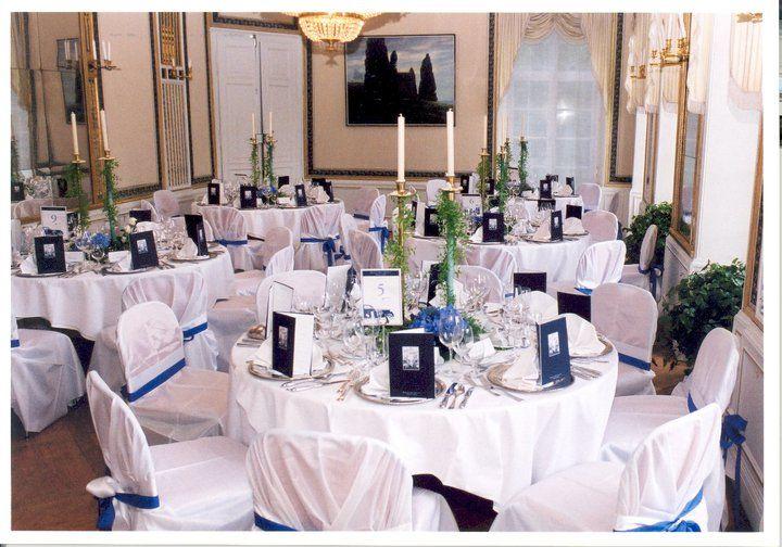 Beispiel: Tischdekoration Hochzeit, Foto: Schlosshotel Monrepos.