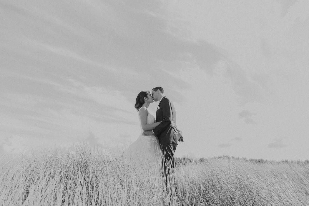 wedding shoot in de duinen