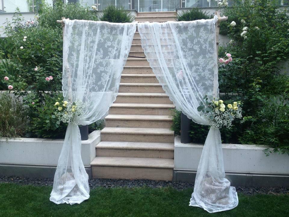Beispiel: Dekoration zur Hochzeit, Foto: Palais Sanssouci.