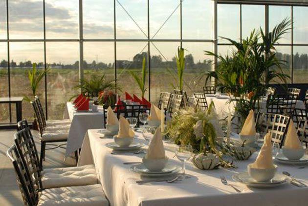 Beispiel: Bankett - Tischdekoration, Foto: Gwächshaus.