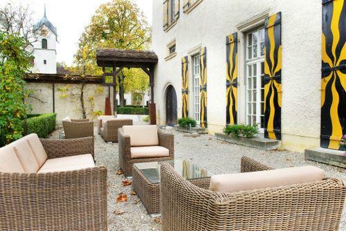 Beispiel: Terrasse, Foto: Schloss Böttstein.