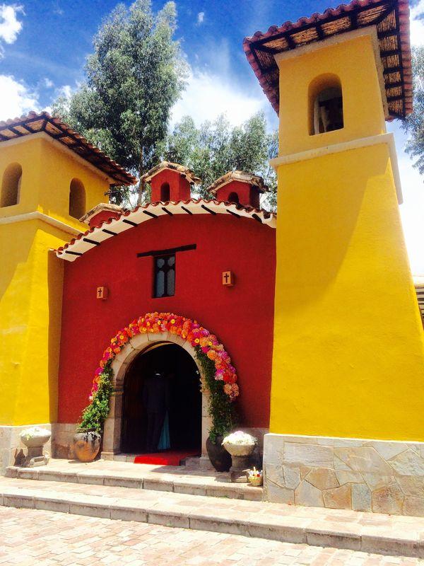 Fachada Capilla Señor de Muruhuay - Yucay - Valle -Sagrado