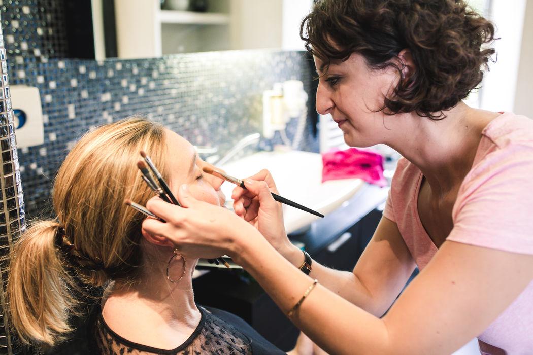Agnès Doussot : esthéticienne et maquilleuse