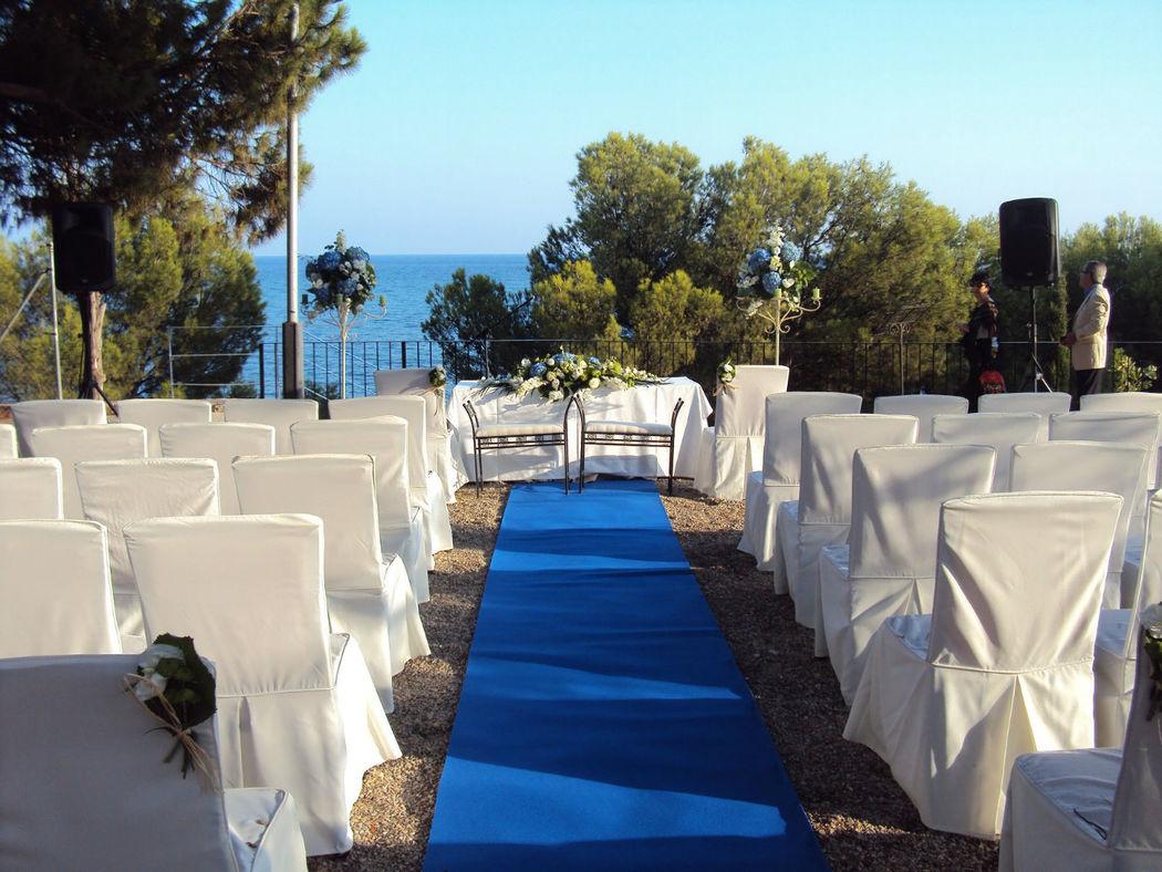 ceremonia azul