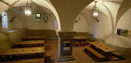 Beispiel: Schlosskeller, Foto: Schloss Landshut.
