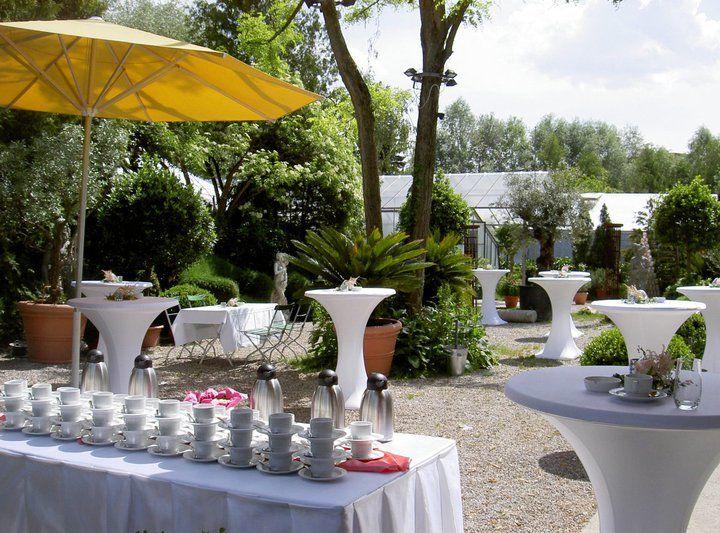 Beispiel: Garten mit Stehempfang, Foto: Botanikum.