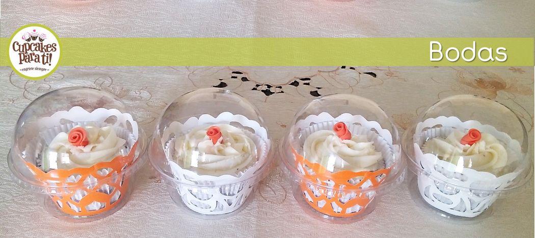 Cupcakes para ti! Recuerdos de Boda