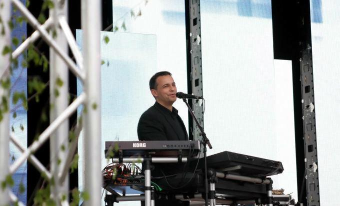 Beispiel: Bühnenerfahrung, Foto: Dirk Baumbach Live.