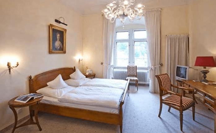 Beispiel: Zimmer, Foto: Schloss Weitenburg.
