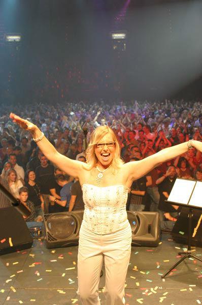 Beispiel: Sabine Schulz live, Foto: Sabine Schulz.