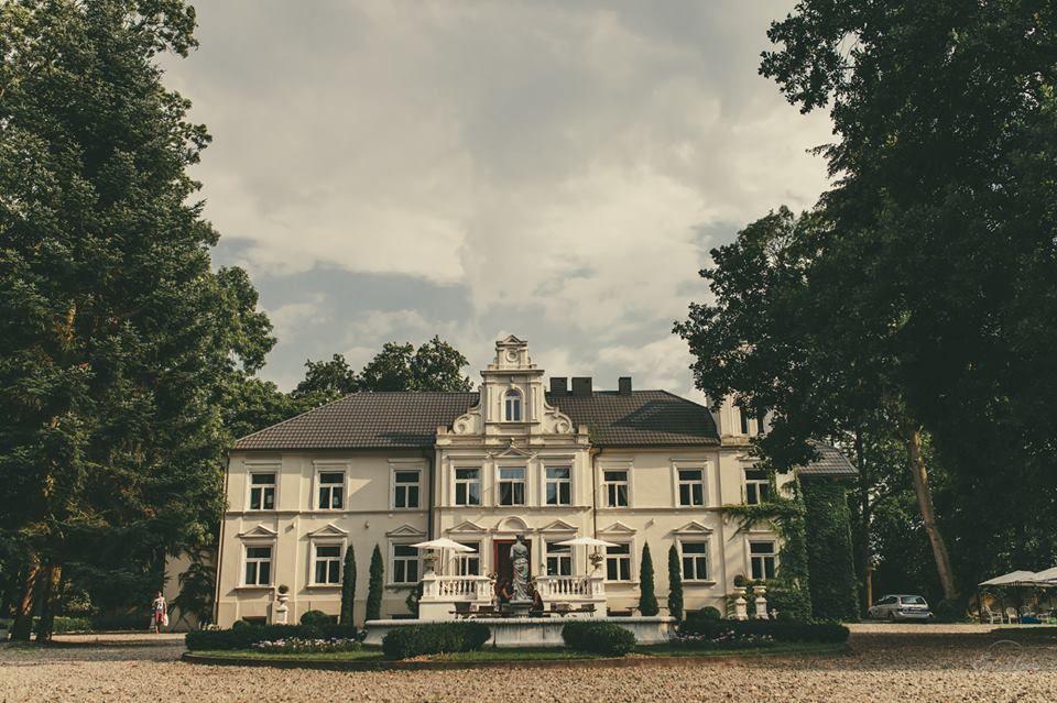Zabytkowy Pałac w Pstrokoniach