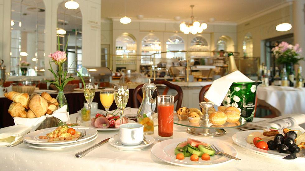 Beispiel: Ausgewogenes Frühstück, Foto: Hotel Rheingold.