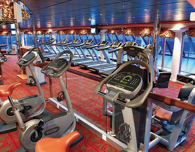 Beispiel: Fitnesscenter, Foto: Nees Reisen.