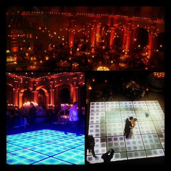 La iluminación y el sonido exacto para darle personalidad a tu boda - Foto César Álvarez Eventos