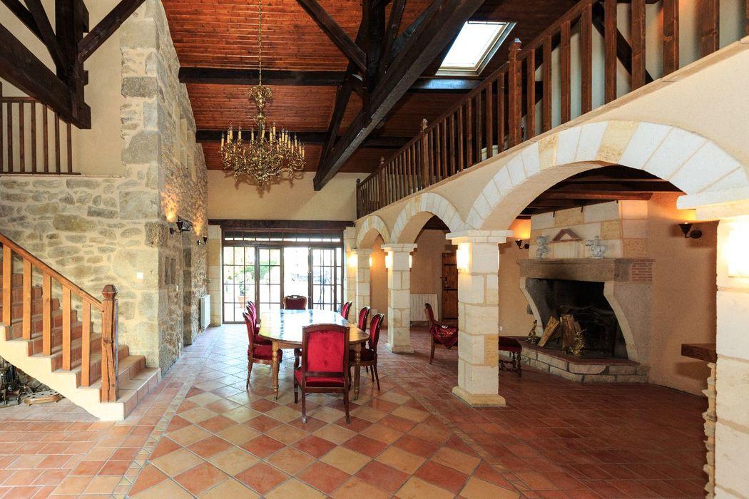 La Véranda du Château Maison Noble, salle principale