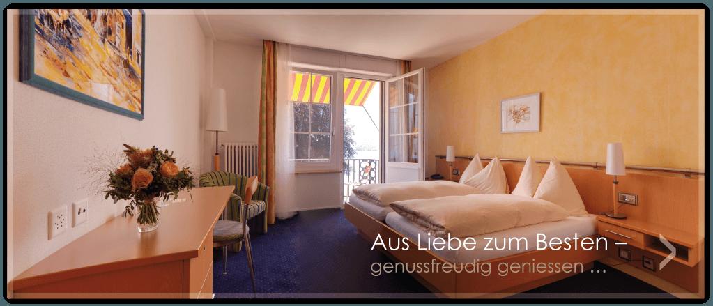 Beispiel: Zimmer, Foto: Parkhotel Gunten.