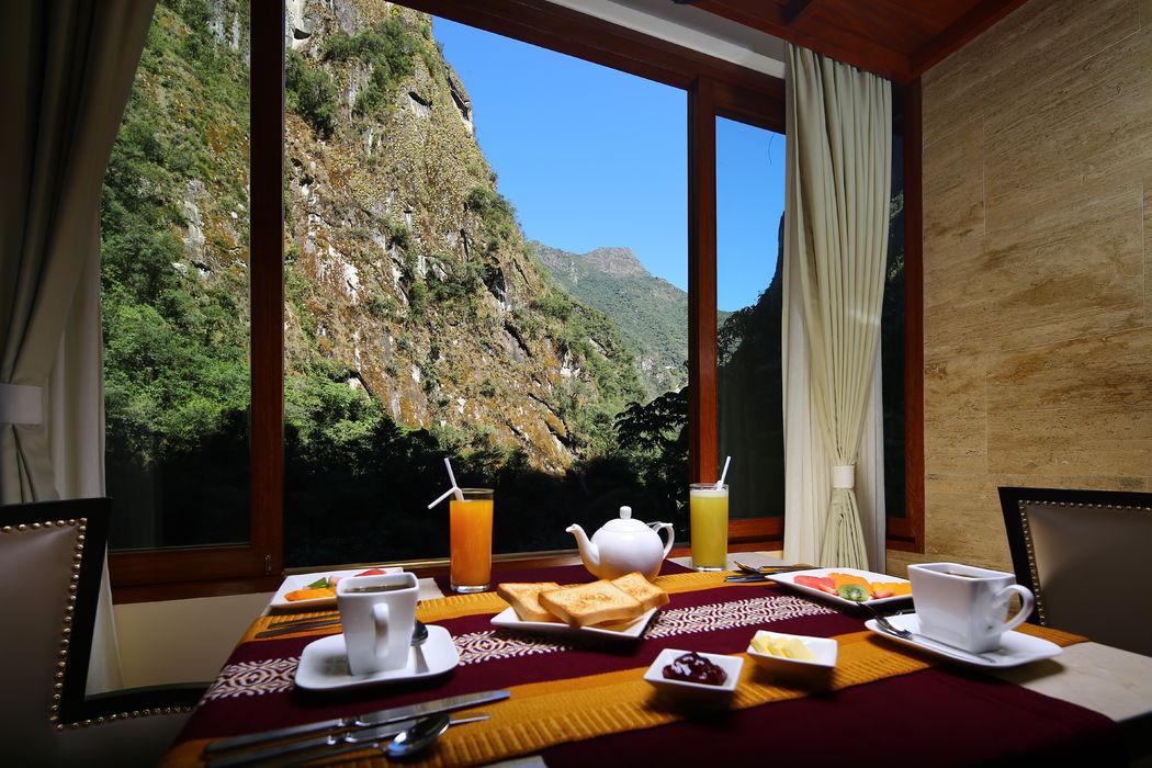 Vista a las montañas de Machu Picchu -  la Suite Imperial