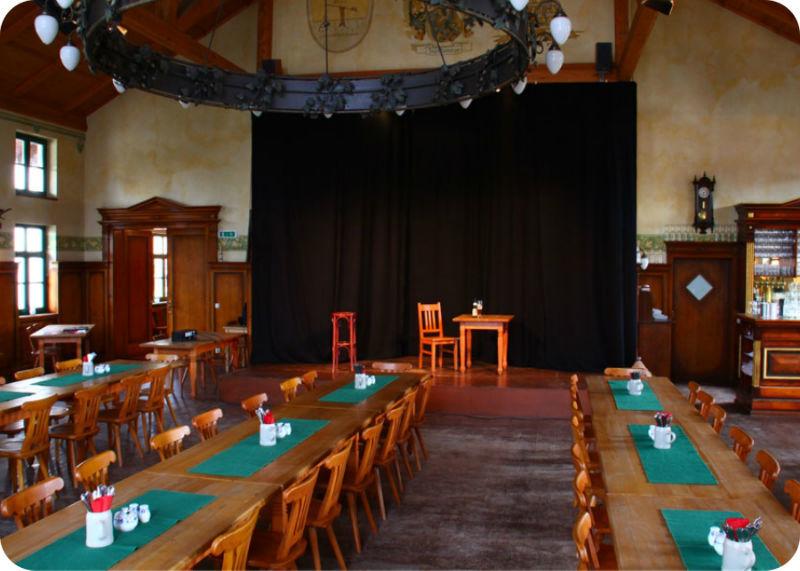 Beispiel: Räumlichkeiten, Foto: Gasthaus Inselkammer.