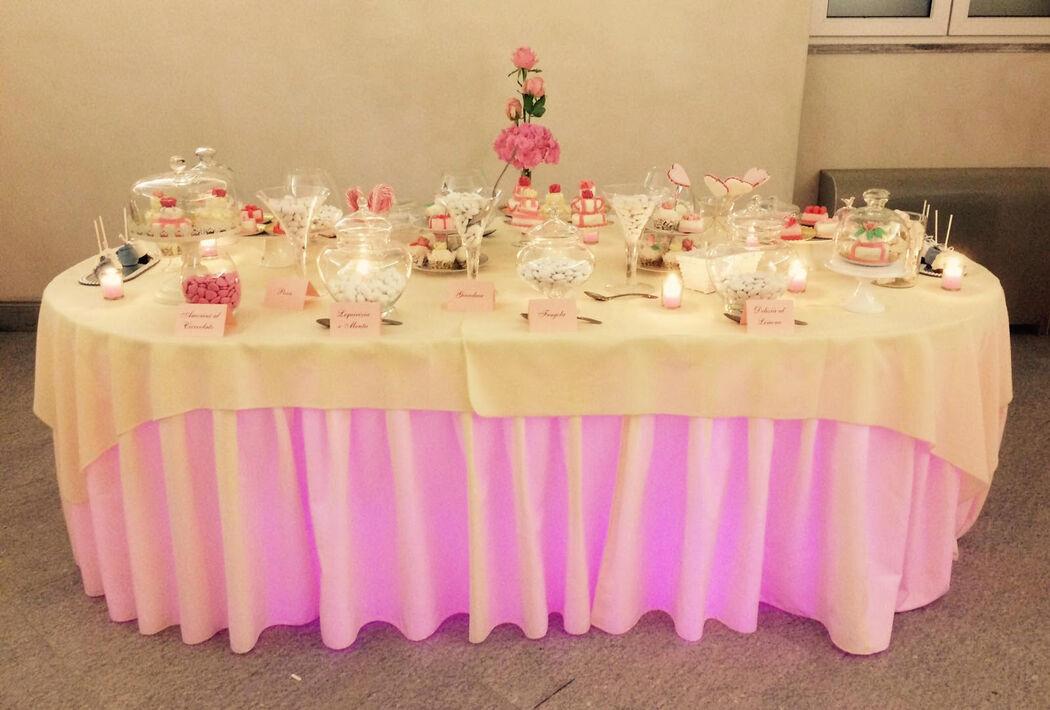 B&B Eventi Wedding - confettata e buffet di dolci
