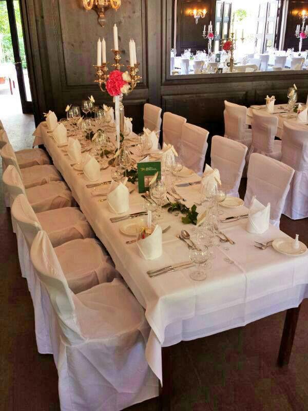 Beispiel: Tischdekoration, Foto: Schloss Glienicke.