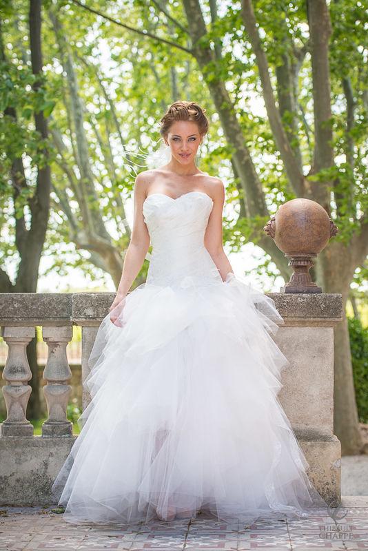 robe A LA FOLIE - collection  Mariées de Provence 2017 modèle transformable en robe courte