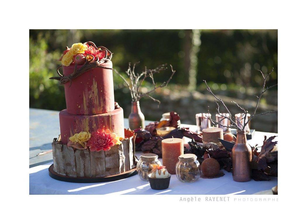 Wedding Cake - Mariage Eté Indien