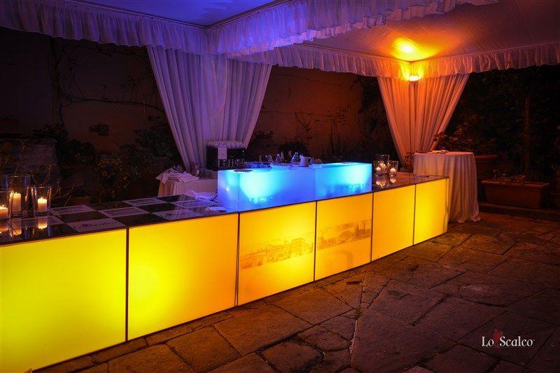 Lo Scalco catering ricevimenti Firenze Il bar luminoso