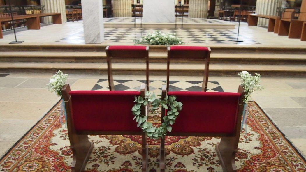 Décor de cérémonie église Des Bulles dans les Branches