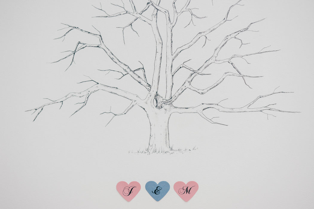 Tree of Love - Fingerabdruck Baum